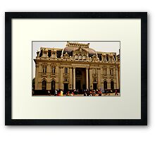 Mail Room Framed Print