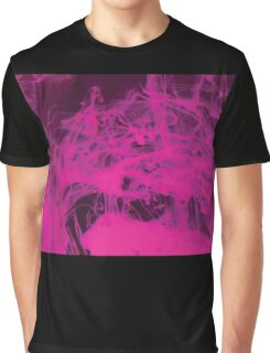 Pink Ink Graphic T-Shirt