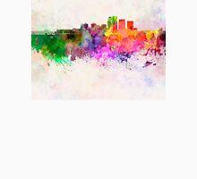 Louisville skyline in watercolor background Unisex T-Shirt