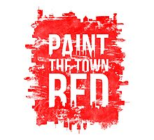 Paint the Town Red Photographic Print