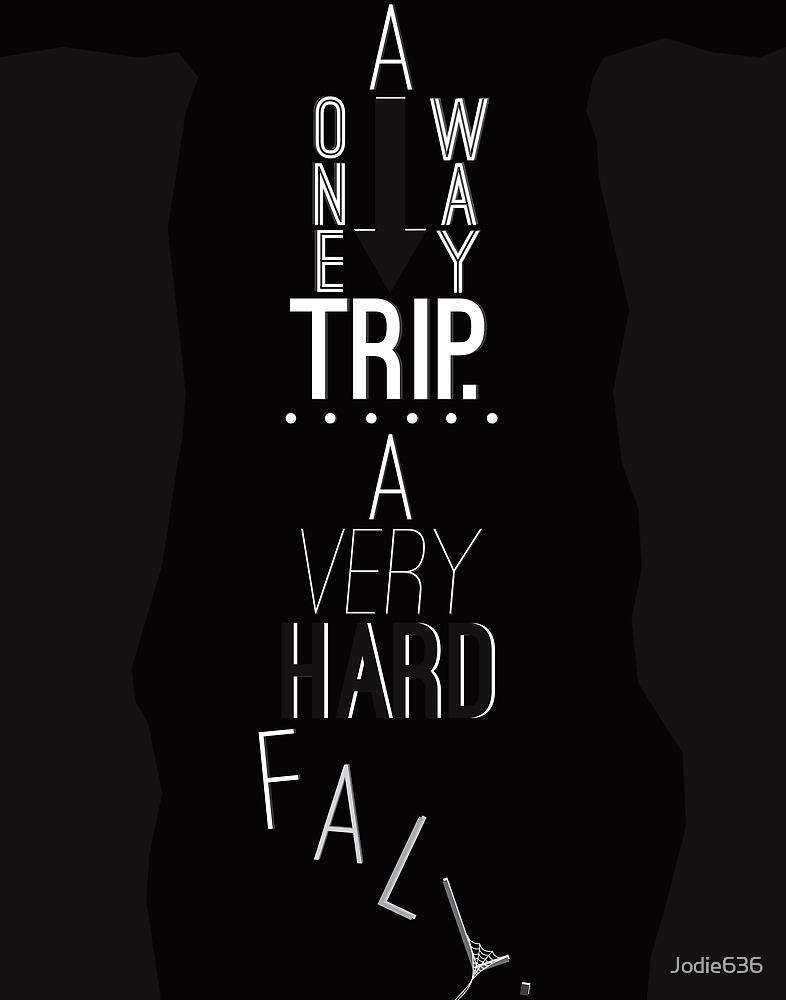 Mark of Athena - One Way Trip by Jodie636