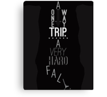 Mark of Athena - One Way Trip Canvas Print
