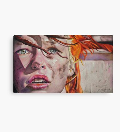 Leeloo Dallas Canvas Print