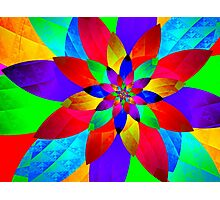Sparkling Colors of Light Photographic Print