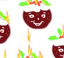 Hot Christmas Puddings T SHIRT/ART Sticker