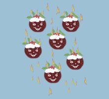 Hot Christmas Puddings T SHIRT/ART Baby Tee