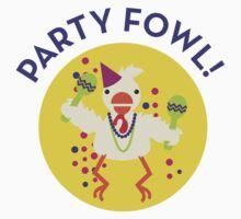 party fowl by bobobirdsinc