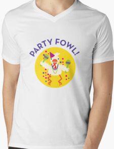 party fowl Mens V-Neck T-Shirt