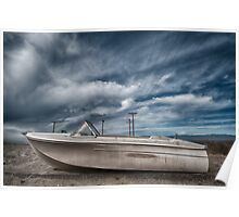 Salton Sea Series: Dry Dock Poster