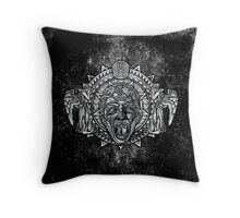 Aztec Dark Angel Don't Blink Pencils sketch Art Throw Pillow