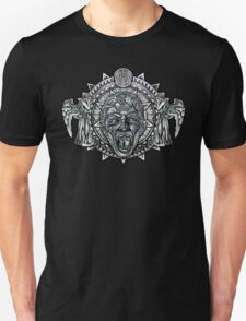 Aztec Dark Angel Don't Blink Pencils sketch Art Unisex T-Shirt