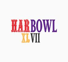 HARBOWL (Super Bowl) XLVII - Jim Harbaugh's San Francisco 49ers vs John Harbaugh's Baltimore Ravens Unisex T-Shirt