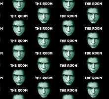 The Room: Johnny's Face With Title by Branchy