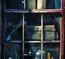 Bric a Brac Window by Peter Evans