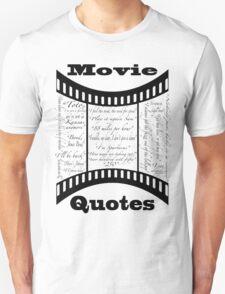 Movie Quotes (Tee shirt) T-Shirt