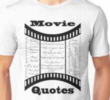 Movie Quotes (Tee shirt) Unisex T-Shirt