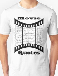 Movie Quotes (Tee shirt) T-Shirt