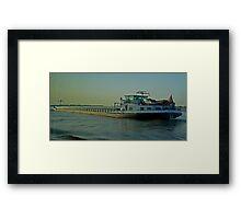 The Trawler #2 Framed Print