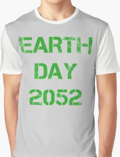 Earth Day 2052 Graphic T-Shirt