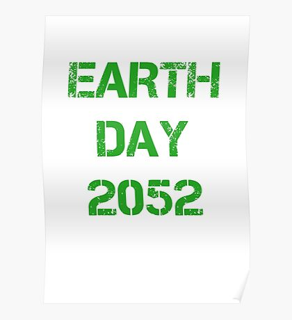 Earth Day 2052 Poster