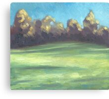 Blowing Wind Canvas Print