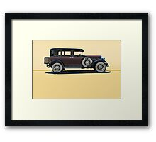 1930 Franklin Airman 145 Deluxe Sedan w/o ID Framed Print