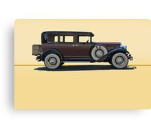 1930 Franklin Airman 145 Deluxe Sedan w/o ID Canvas Print