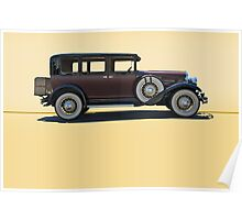 1930 Franklin Airman 145 Deluxe Sedan w/o ID Poster