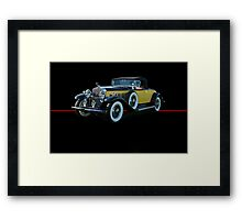 1929 Cadillac Convertible Coupe Framed Print