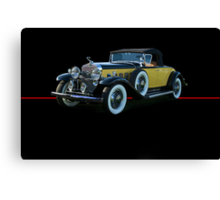 1929 Cadillac Convertible Coupe Canvas Print