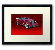 1937 Packard Dual Cowl Phaeton w/o ID Framed Print