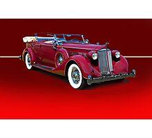 1937 Packard Dual Cowl Phaeton w/o ID Photographic Print