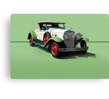1929 Cadillac 341B Convertible V8 w/o ID Canvas Print
