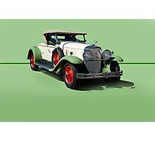 1929 Cadillac 341B Convertible V8 w/o ID Photographic Print