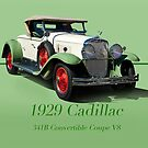 1929 Cadillac 341B Convertible V8 w/ID by DaveKoontz