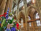 Flowers York Minster - HDR by Colin  Williams Photography