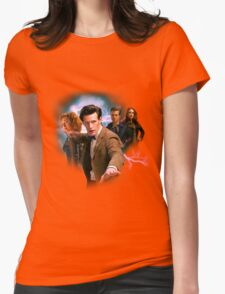 Doctor And Ponds Womens Fitted T-Shirt