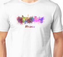 Macau skyline in watercolor Unisex T-Shirt