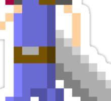 Pixel Cloud Sticker