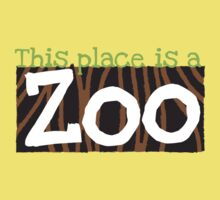 This place is a ZOO One Piece - Short Sleeve