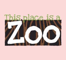 This place is a ZOO Kids Tee