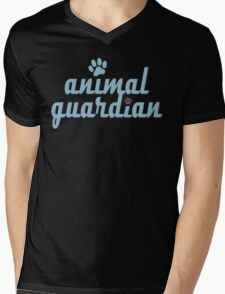 animal guardian - animal cruelty, vegan, activist, abuse Mens V-Neck T-Shirt