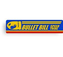 Mario Kart 8 Bullet Bill Canvas Print