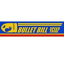 Mario Kart 8 Bullet Bill Photographic Print