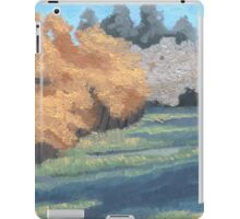 Green Field iPad Case/Skin