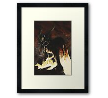 Little Horn Framed Print