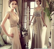 Select Beautiful Wedding Party Dresses by gaoxingru