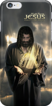 Jesus: Surely I come quickly (iPhone/iPod Case) by Angelicus