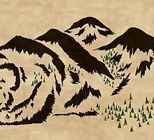 Sleepy Bear Mountain by eponymon