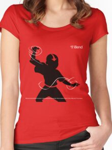 iBend Women's Fitted Scoop T-Shirt